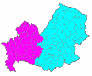 The municipalities of Molise
